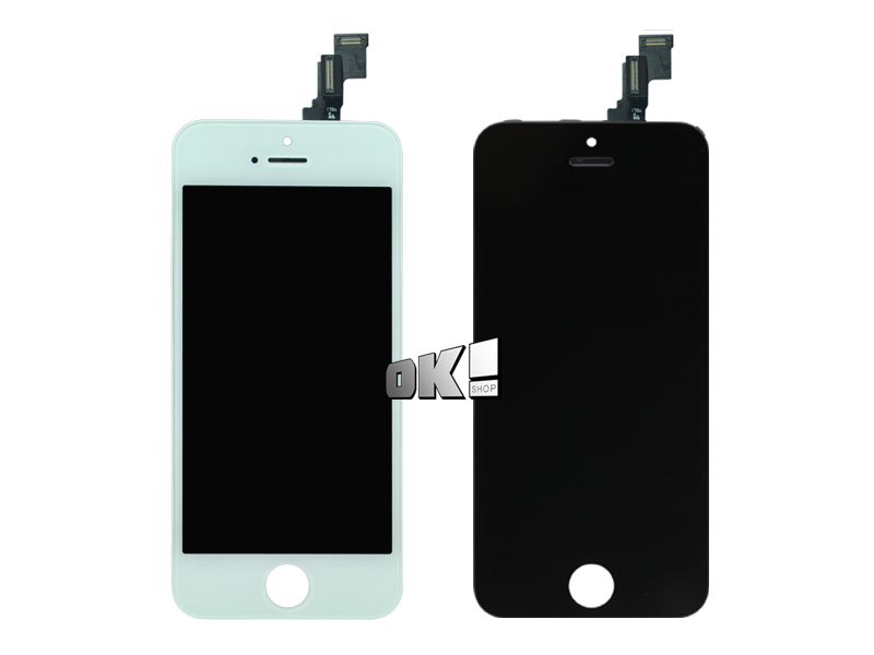 DHL10 pcs 100% No Dead Pixel For iPhone 5c new black LCD Display touch screen Assembly A+++ Quanlity DHL(China (Mainland))