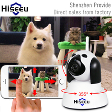 Buy hiseeu Home Security IP Camera Wi-Fi Wireless Smart Dog wifi Camera Surveillance 720P Night Vision CCTV Indoor Baby Monitor FH4 for $27.00 in AliExpress store