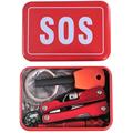 Outdoor Hiking Camping Tools Emergency Survival Tool Set Multi function Wildlife SOS Tool Box Travel Kit