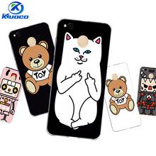 """Buy Personalise DIY Xiaomi Redmi 4 Pro Phone Case 5.0"""" Redmi 4X / 4A Cover Redmi4 Soft TPU White Cat Printing Coque for $2.30 in AliExpress store"""