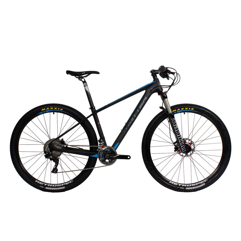 TWITTER T700 29er Super Light High-end Carbon Complete Mountain 29er Bicycle XT 11 Speed.Oil Brake Various Color(China (Mainland))