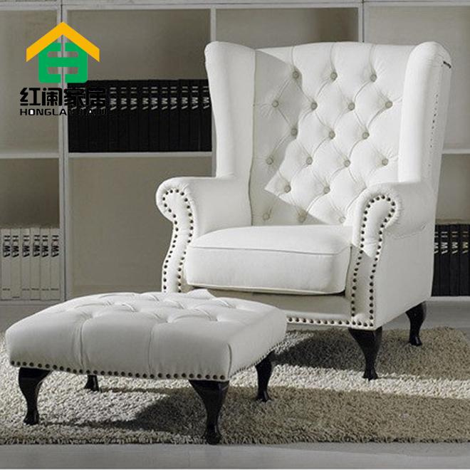 Cheap European Style Fabric Sofa Chair Single Chair High