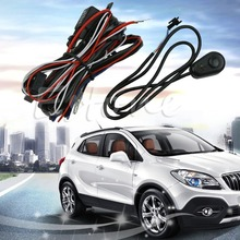 2 Legs Universal Wiring Harness for Off Road LED Bars LED Work Fog Light ATVS(China (Mainland))