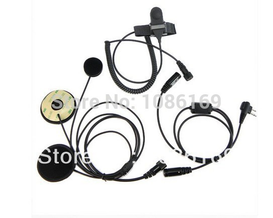 Здесь можно купить  20pcs Motorcycle Helmet Headset Earpiece for MOTOROLA 2 PIN Ham Radio Walkie talkie two way radio  Телефоны и Телекоммуникации