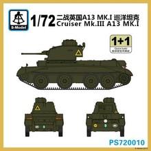 S-modelo 1/72 PS720010 Crusader mk. III A13 mk. I ( 1 + 1 )