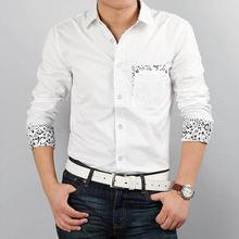 2016 Suihua new long sleeved shirt pocket men's casual men