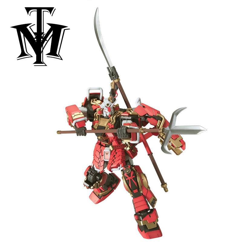 Gaogao 1/100 True dynasty warriors Gundam Shin Musha model Puzzle assembled Robot boy Anime toy gift Arts Furnishing articles(China (Mainland))