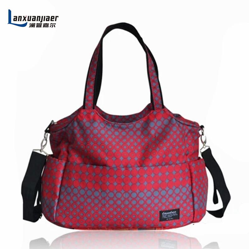 High Quality Fashion Multifunctional Mummy Bag For Baby Diaper Bag Durable Portable Baby Bag For Mom bolsa maternidade(China (Mainland))