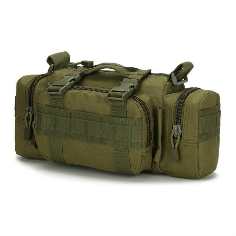 Upgraded Military Waist Bags Pack Shoulder chest bag crossbody bag messenger bag Molle free shipping(China (Mainland))