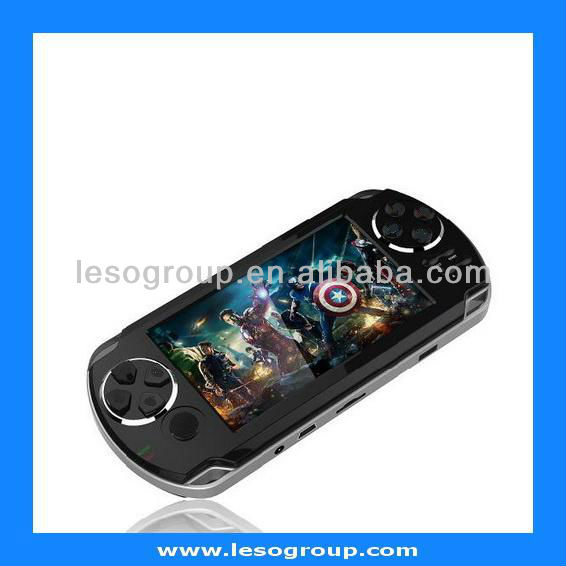 AN4305G 4.3 Inch Handheld Game Player With 4GB MP3 MP5 Video WIFI Camera Portable Game Console android Player(China (Mainland))