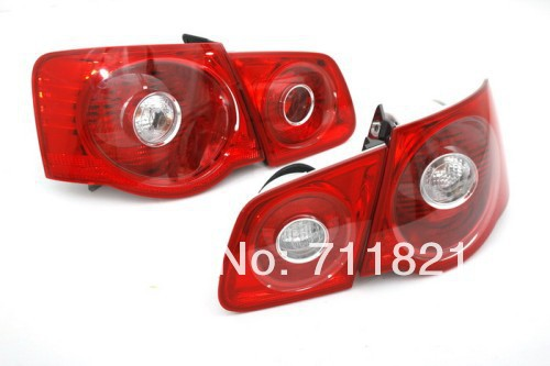 Non-LED Full Red Color Stock Tail Light For Volkswagen For VW Jetta MK5(China (Mainland))