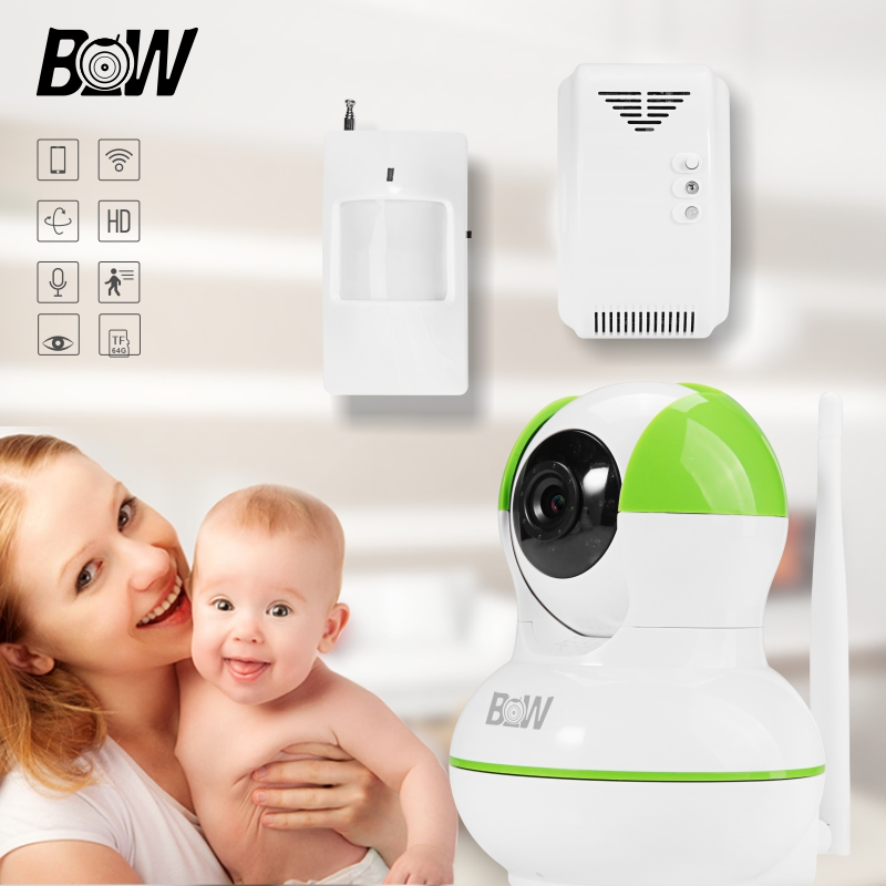 Mini Wifi IP Camera Set Wireless 720P HD Smart Camera P2P Baby Monitor CCTV Security Camera Home Protection Mobile Remote Cam