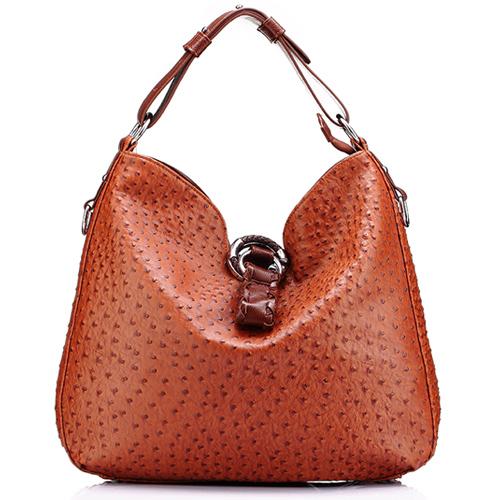 2016 ostrich bag for women hobos bags handbags women famous brands pu leather handbags louisvuigon bolsa feminina dollar price(China (Mainland))