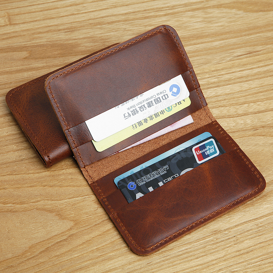 LAN Free Shipping men's leather credit card casewhole sale slim card case travel case bank card case credit card holder(China (Mainland))