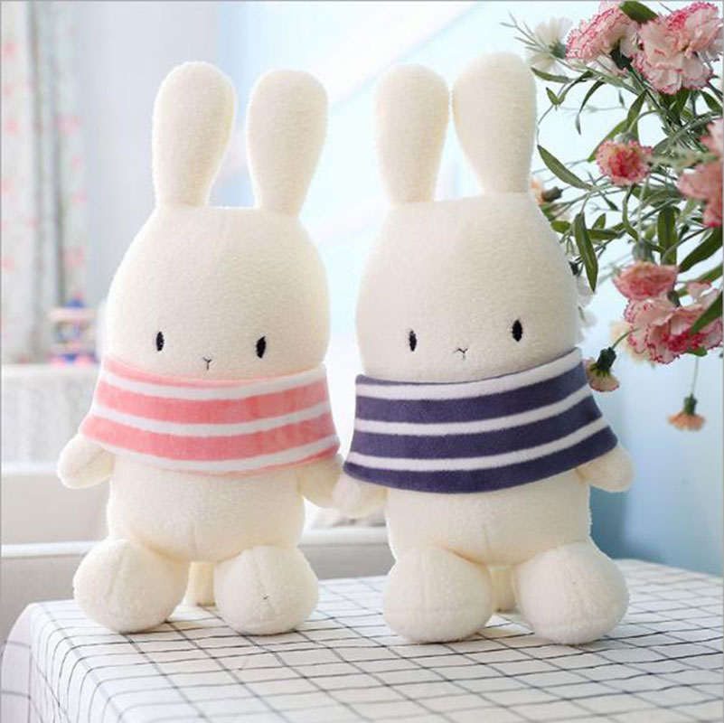 Original Fashion Rabbit Dolls Plush Kids Toys Style 40cm Bunny Stuffed Animal Rabbit Toy Gifts(China (Mainland))