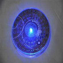 2015 Sale New Round Placemat 1 Led Flashing Lights for 3m Sticker Bottle Cup Mat Coaster for Clubs Bars Party Living Accessories(China (Mainland))