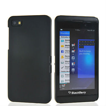 New arrival Smooth skin Hard rubber rubberized Plastic coating case cover for Blackberry Z10 - 10 Colors - Free shipping