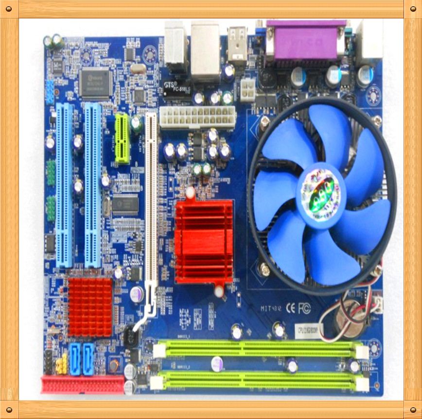Free shipping G41 motherboard / Gamen GMIG41M motherboard / integrated 2.8 pairs of core Xeon CPU / ddr3 integrated motherboard(China (Mainland))