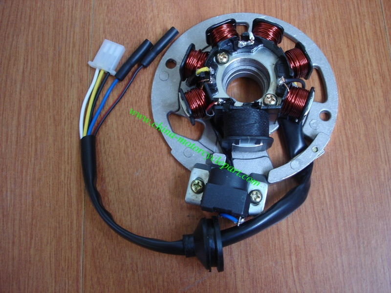 popular 5 wire stator buy cheap 5 wire stator lots from 5 7 coil 5 wire ac magneto stator for scooter jog 90 cc 4dm vento zip keeway