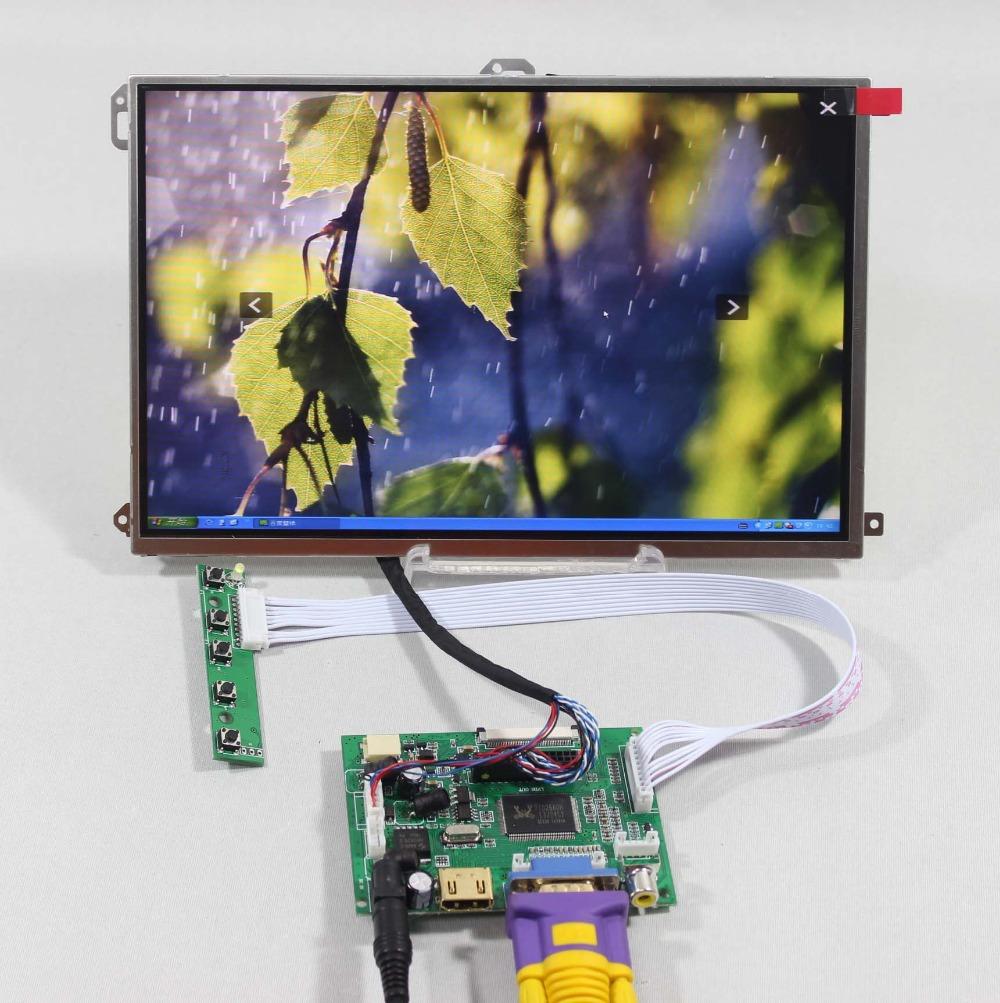 "HDMI+VGA+2AV LCD driver board VS-TY2662-V1+10.1"" LP101WX1-SLP2 1280*800 IPS lcd(China (Mainland))"