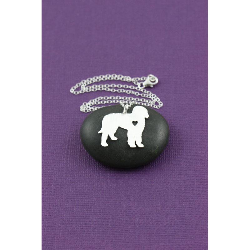 Sale goldendoodle necklace goldendoodle dog pendant for Unique christmas gifts for dog lovers