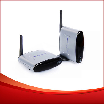 5pcs/lot 150m 2.4G Wireless A/V audio video AV TV sender Transmitter and Receiver free shipping DHL