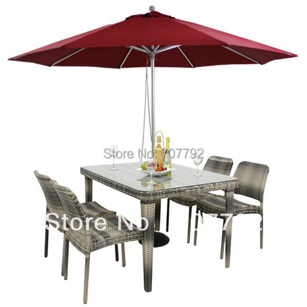 Table en osier promotion achetez des table en osier for Table exterieur osier