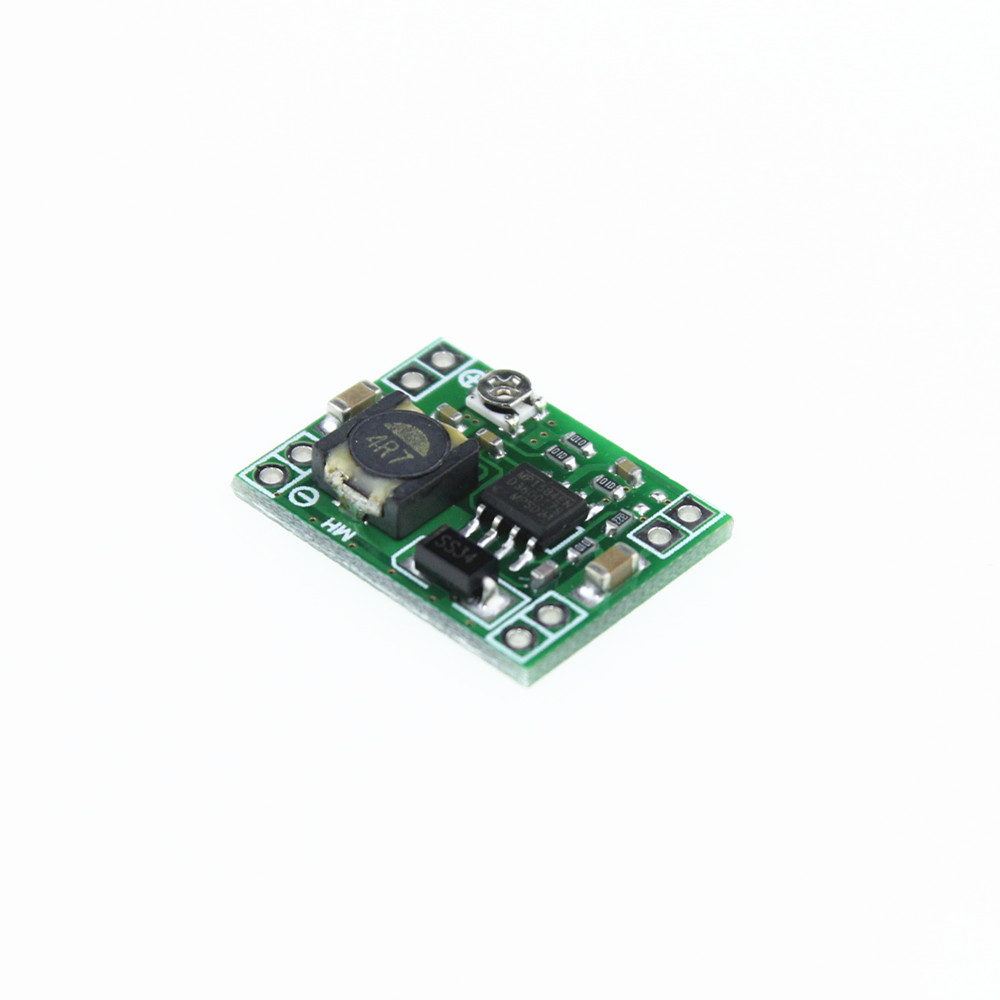 Smart Electronics XM1584 Ultrasmall size DC-DC step-down power supply module 3A adjustable step-down module super LM2596(China (Mainland))