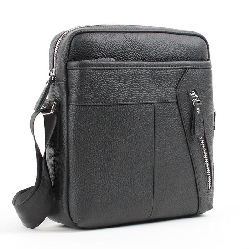 Genuine Leather Messenger Bag Man Bag Fashionable Casual Messenger
