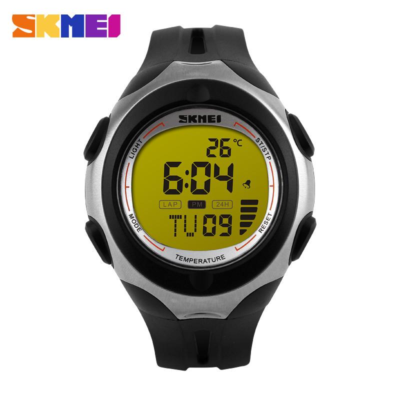 New Waterproof Outdoor Sport PC Men Woman 50 Meters Quartz Analog Wrist Watch