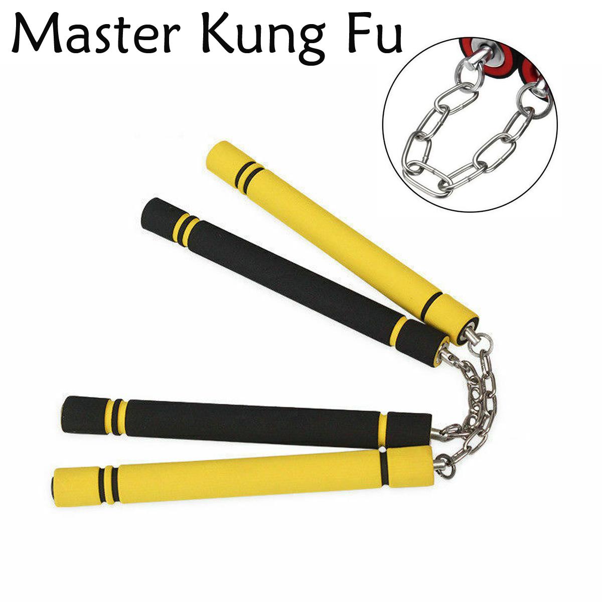 HOT Karate Martial Arts Training Foam Nunchaku Nunchucks Stick Practice Weapon