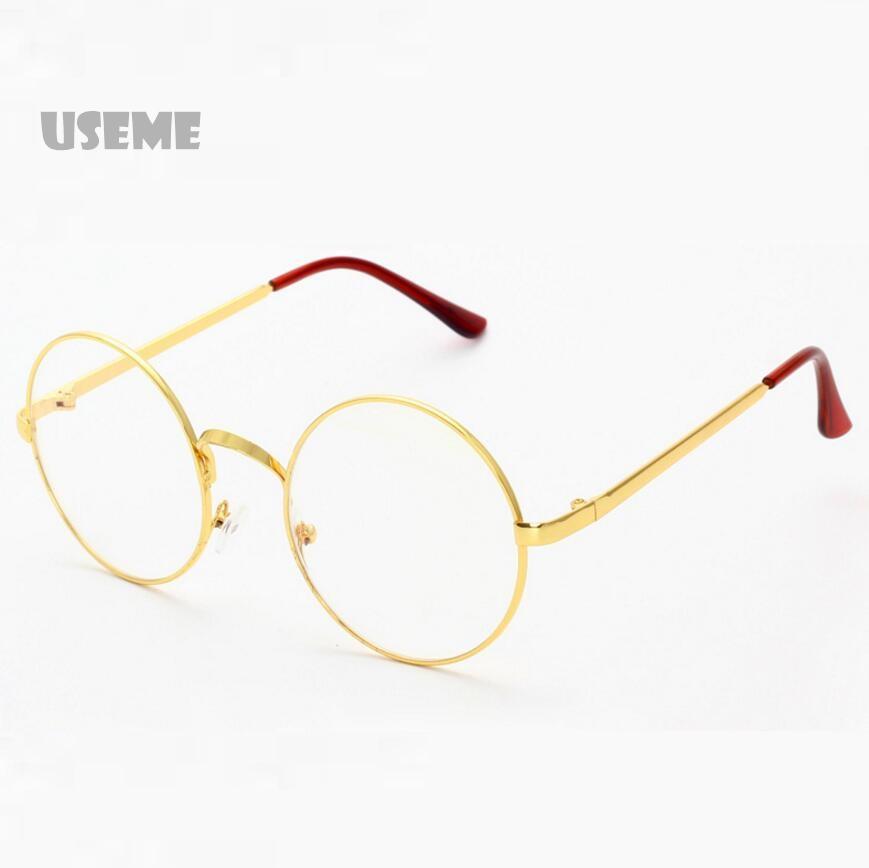 Big Metal Retro Women Round Sunglasses Frames Women Mirror Sun Lenses Spectacles Triangle Nose Shades Oculos De Sol(China (Mainland))