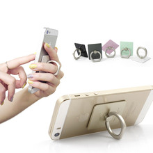 360 Degree Finger Ring Mobile Phone Smartphone Stand Holder For iPhone/samsung /htc/sony/lg/xiaomi/lg all Smart Phone with logo(China (Mainland))