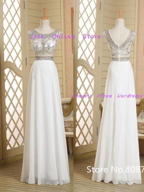 Вечернее белое шифоновое платье в пол. Реальные фото