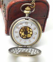 bronze vintage watches big vintage pocket watch roman quartz pocket watch relogio de bolsos steampunk watches