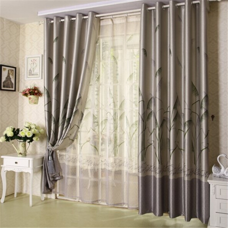 Cotton Curtain Fabric Living Room Curtain High Quality