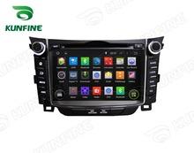 Quad Core 1024*600 Android 5.1 Car DVD GPS Navigation Player Car Stereo for Hyundai I30 2011-2014 Radio Wifi Bluetooth