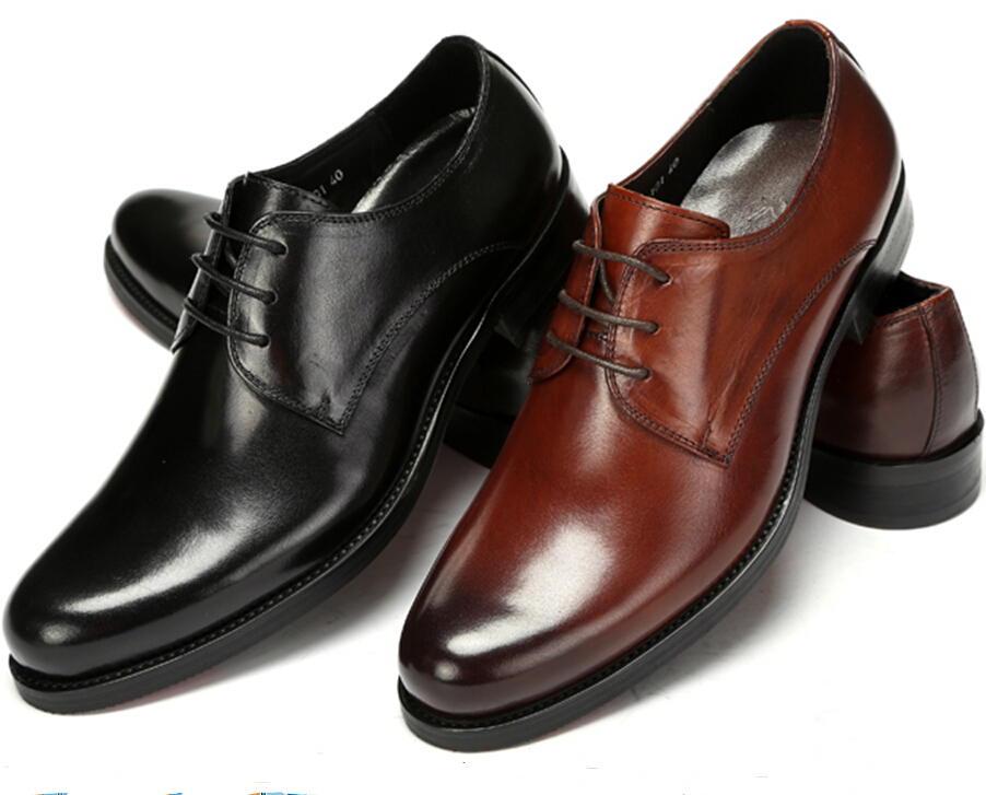 HOT sale  Black/brown tan fashion mens wedding party shoes flats genuine leather men dress shoes mens casual shoes work office<br><br>Aliexpress