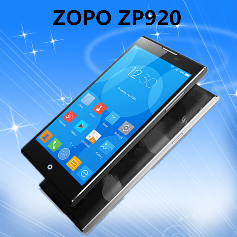 New Original ZOPO ZP920 smartphone 5.2inch 4G phone FDD LTE MTK6752 Octa Core 2GB 16GB 13.2MP OTG cellphone Android 4.4 Dual SIM(China (Mainland))