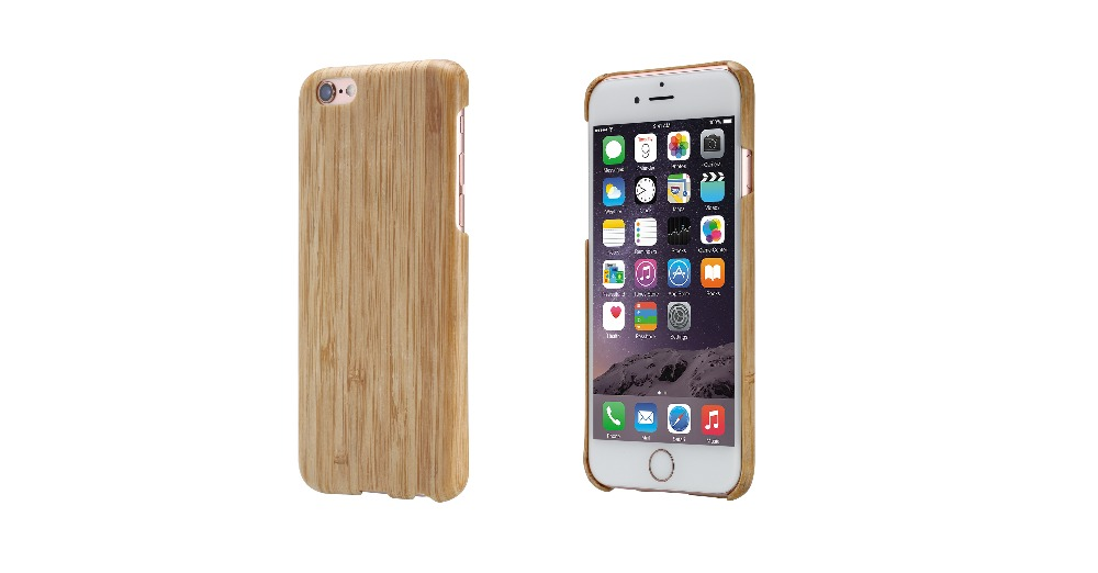 PITAKA 100% All Real Bamboo Material Hard Case Fashion Leisure Super Thin Back Cover For Apple iPhone 6 Plus/iPhone 6s Plus 5.5(China (Mainland))