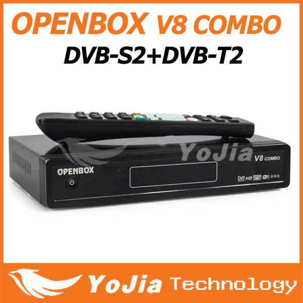 10pcs Openbox V8 Combo Satellite Receiver DVB-S2+DVB-T2 Support Cccamd Newcamd Youtube Youporn Google Map USB Wifi(China (Mainland))