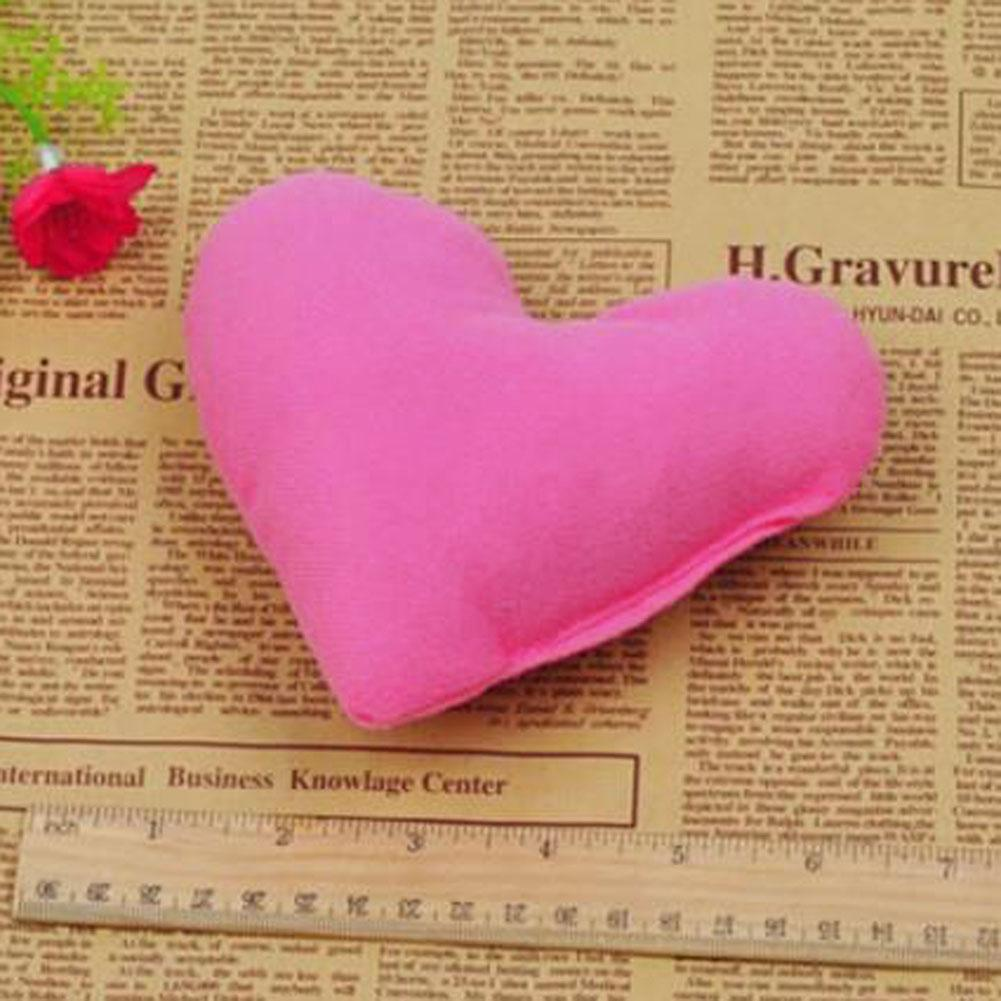 Dog/Cat Nest Cute Heart-shaped Pillow Plush Pet Home Decor Gift Toy rose red PML(China (Mainland))