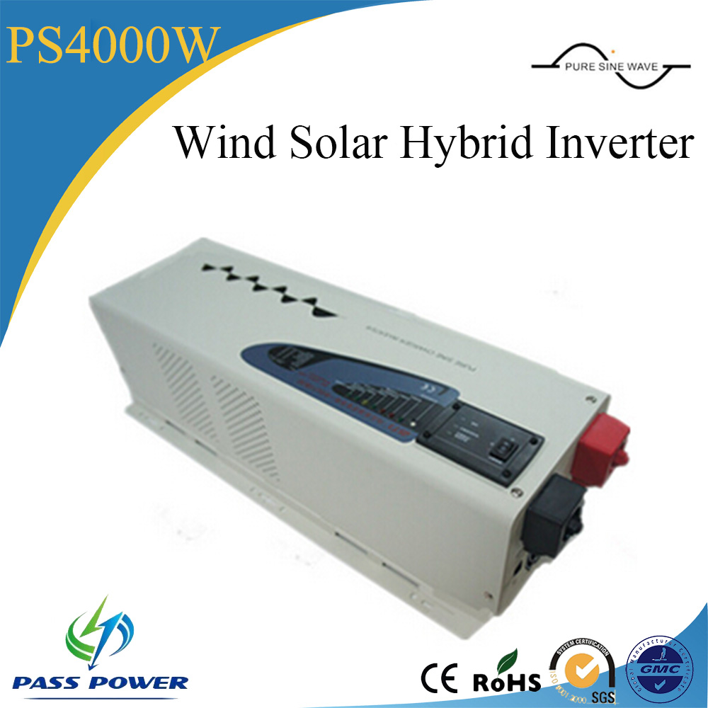 Single Output Type and DC/AC Inverters Type 4000W Wind Solar Hybrid Inverters(China (Mainland))