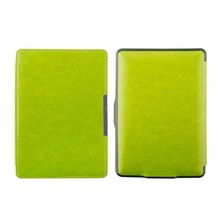 Leather Smart book cover magnet closure for Amazon Kindle Paperwhite 2 3 2016 2015 2014 2013 2012 Case cover sleeve pouch bag(China (Mainland))