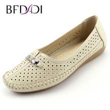 2016 Summer Hot Sale Casual Anti-skid  Women Flats Shoes Big Size 37-42 Boat Shoes 3 Colors White Black Beige Ladies Shoes B51(China (Mainland))