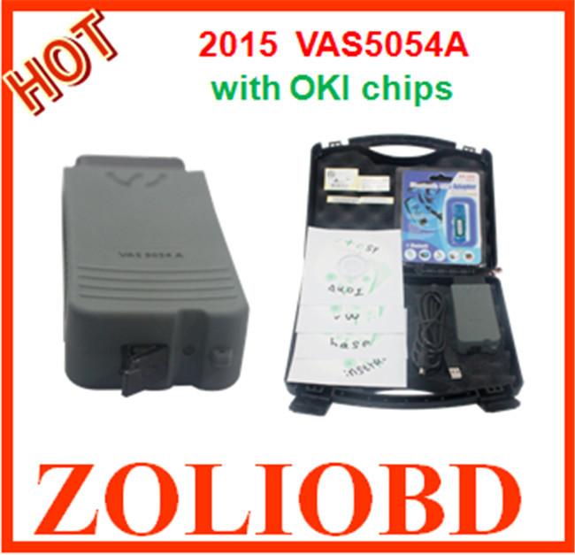 ! 2015 Best quality VAS 5054A Bluetooth universal diagnostic interface vehicles vas5054 OKI Chip - ZL Obdtoolshop Co.,Ltd. store