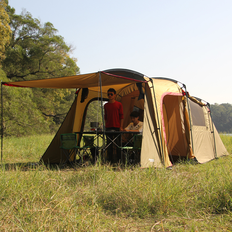 Family Backyard Camping : large outdoor camping 1big hall 1 Bedroom for 5 6 people big family