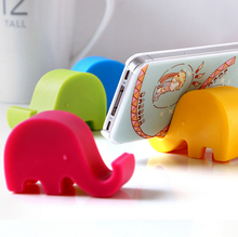Mobile Phone Holder For iPhone6 6s iPad Samsung Galaxy S4 S3 N7100 Mobile Phone Elephant Stand Stents For Tablet