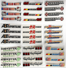 4PCS/LOT colorful car handle stickers reflective car styling car accessories car decoration +FREE SHIPPING