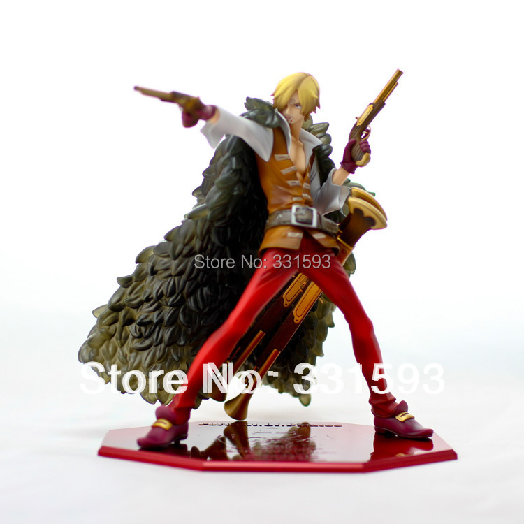 """anime figures One Piece POP Film Z Sanji Red Trousers Anime Action Figure Collection Toy 9""""23CM Free Shipping(China (Mainland))"""